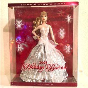2008 Happy Holidays Barbie